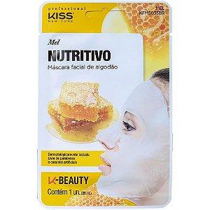 Máscara Facial Mel Nutritivo - Kiss NY