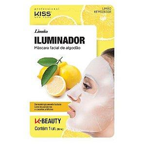 Máscara Facial Limão Iluminador - Kiss NY
