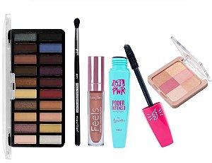 Kit de Maquiagem Essencial