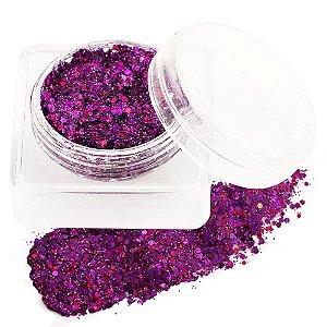 Sombra Glitter Jelly Flaky Cor 02 - Fenzza