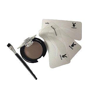 Kit para Sobrancelhas Eye Brow - Playboy