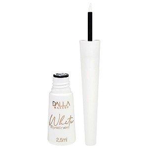 Delineador Líquido Branco Vegano - Dalla Makeup