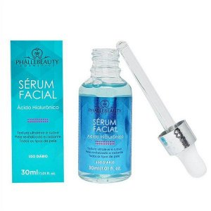 Sérum Facial Ácido Hialurônico 30ml - Phallebeauty