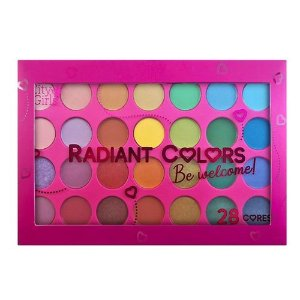 Paleta 28 Cores Radiant Colors - City Girls