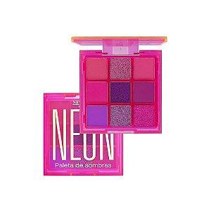 Paleta de Sombras Neon Rosa - New Face