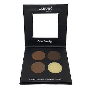 Quarteto de Sobrancelhas - Ludurana
