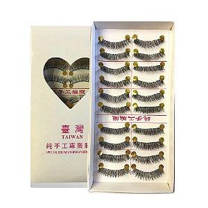 Caixa de Cílios com 10 Pares 005 - Ruby Anjo