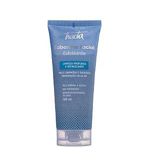 Sabonete Facial Esfoliante 100ml - Tracta