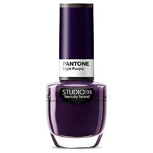 Esmalte Pantone Night Purple - Studio 35
