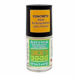 SOS Concreto Base Endurecedora com Formol - Top Beauty