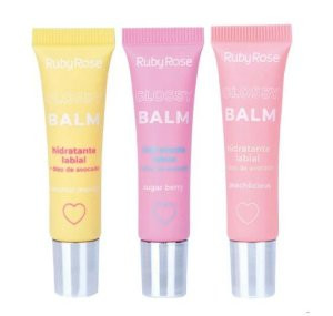 Glossy Balm Hidratante Labial - Ruby Rose