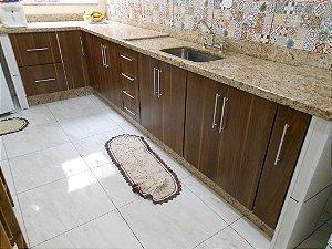 Cozinha Planejada Sob Medida em MDF Duratex Branco TX e MDF Masisa Venezuela