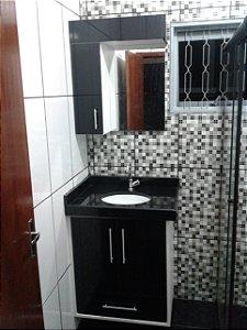 Banheiro Planejado Sob Medida 100% em MDF de 18 mm Duratex