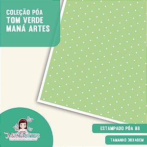 COLEÇÃO POÁS - TONS VERDES by MANÁ ARTES