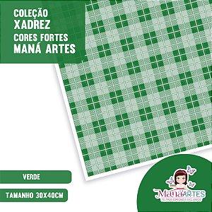 COLEÇÃO XADREZ CORES FORTES by MANÁ ARTES