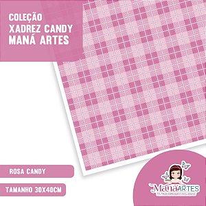 COLEÇÃO XADREZ CANDY by MANÁ ARTES