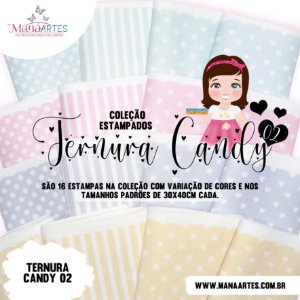 COLEÇÃO ESTAMPADOS TERNURA CANDY 02