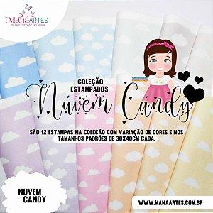 COLEÇÃO DE ESTAMPADOS - NUVEM CANDY MANÁ