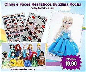 KIT OLHOS PRINCESAS by Zilma Rocha