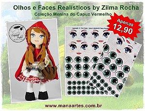 KIT OLHOS CHAPEUZINHO VERMELHO by Zilma Rocha