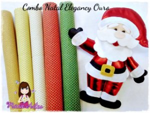 COMBO NATAL - ELEGANCY OURO