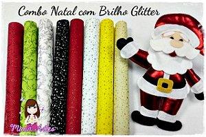 COMBO NATAL - BRILHO GLITTER