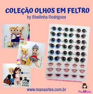 OLHOS IMPRESSOS HORA DE BRINCAR by SHEILINHA RODRIGUES
