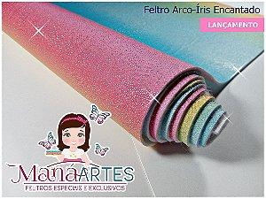 FELTRO ARCO-ÍRIS ENCANTADO