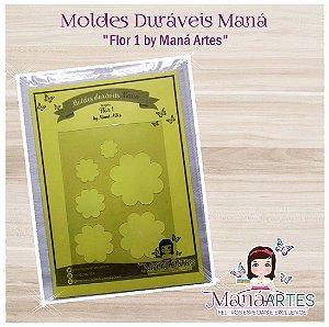 Moldes Duráveis - FLOR MOD.1 by Maná Artes