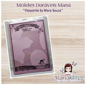 Moldes Duráveis - FLOQUINHO by Mara Souza