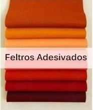 FELTROS ADESIVADOS - cortes 35 x 23cm