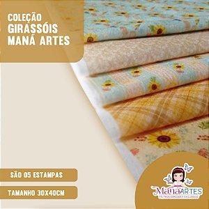 COLEÇÃO GIRASSÓIS by MANÁ ARTES