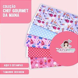 COLEÇÃO CHEF GOURMET by MANÁ ARTES