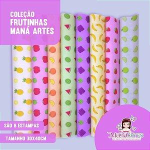 COLEÇÃO FRUTINHAS by MANÁ ARTES