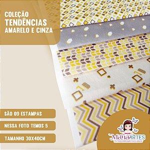 COLEÇÃO TENDÊNCIAS AMARELO E CINZA by ANTONIEL SANTOS
