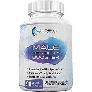 Fertility Booster Masculino - Otimizador da Quantidade e Motilidade do Esperma - 90 caps