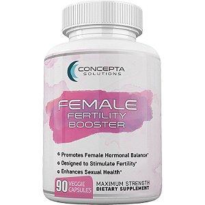 Fertility Booster Feminino - Qualidade do Óvulo, Equilíbrio Hormonal e Saúde Reprodutiva - 90 caps