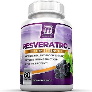 Resveratrol - 1200mg Máxima Potência - 60 caps