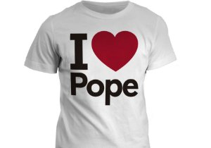 Camiseta - I love Pope