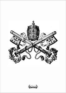 Poster - Brasão do Vaticano