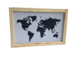 Luminária Mapa Mundi