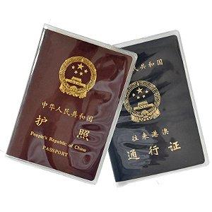 Porta-passaporte Transparente