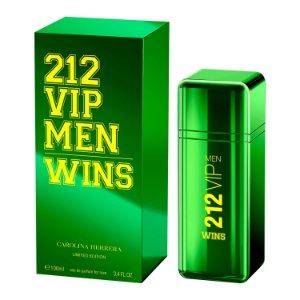 Perfume Carolina Herrera 212 Vip Wins Masculino EDP 100ml