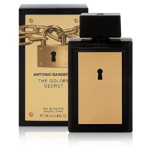 Perfume Antonio Banderas The Secret Gold Masculino EDT 100ml