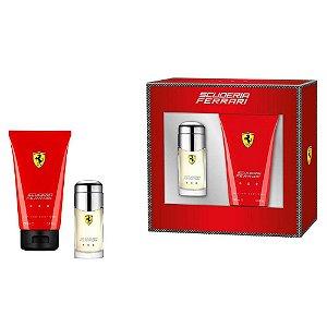 Kit Perfume Ferrari Scuderia Red EDT 30ml + Shower Gel 150ml