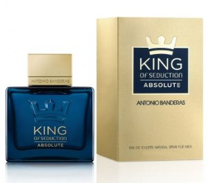 Perfume Antonio Banderas King of Seduction Absolute Masculino EDT 100ml
