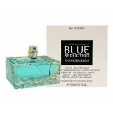 TESTER Perfume Antonio Banderas Blue Seduction Feminino EDT 080ml