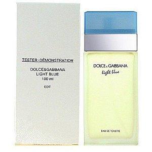 TESTER Perfume Dolce & Gabbana Light Blue Feminino EDT 100ml