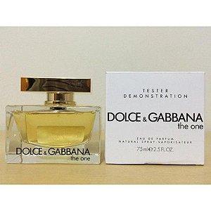 TESTER Perfume Dolce & Gabbana The One Feminino EDP 75 ml