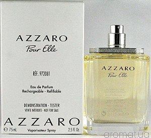 TESTER Perfume Azzaro Pour Elle Feminino EDP 75ml